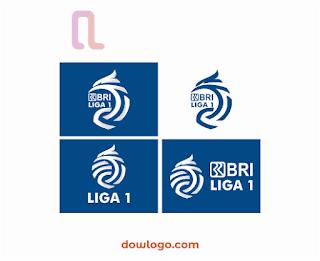 Logo BRI Liga 1 Vector Format CDR, PNG