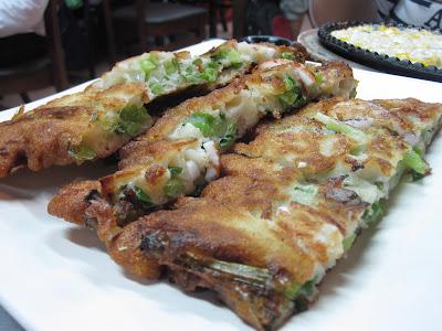 Red Pig Korean Restaurant, seafood pancake