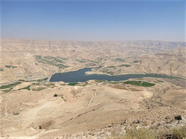 panorama diga wadi mujib