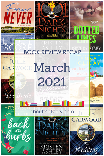 Book Review Recap March 2021 | About That Story