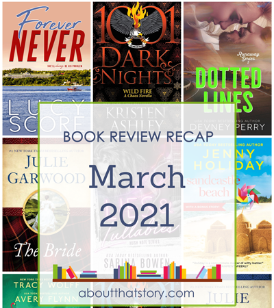 Book Review Recap March 2021