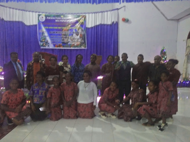 Pemuda Baptis West Papua Wilayah Timika Gelar Ibadah Natal dan HUT ke 1.lelemuku.com.jpg