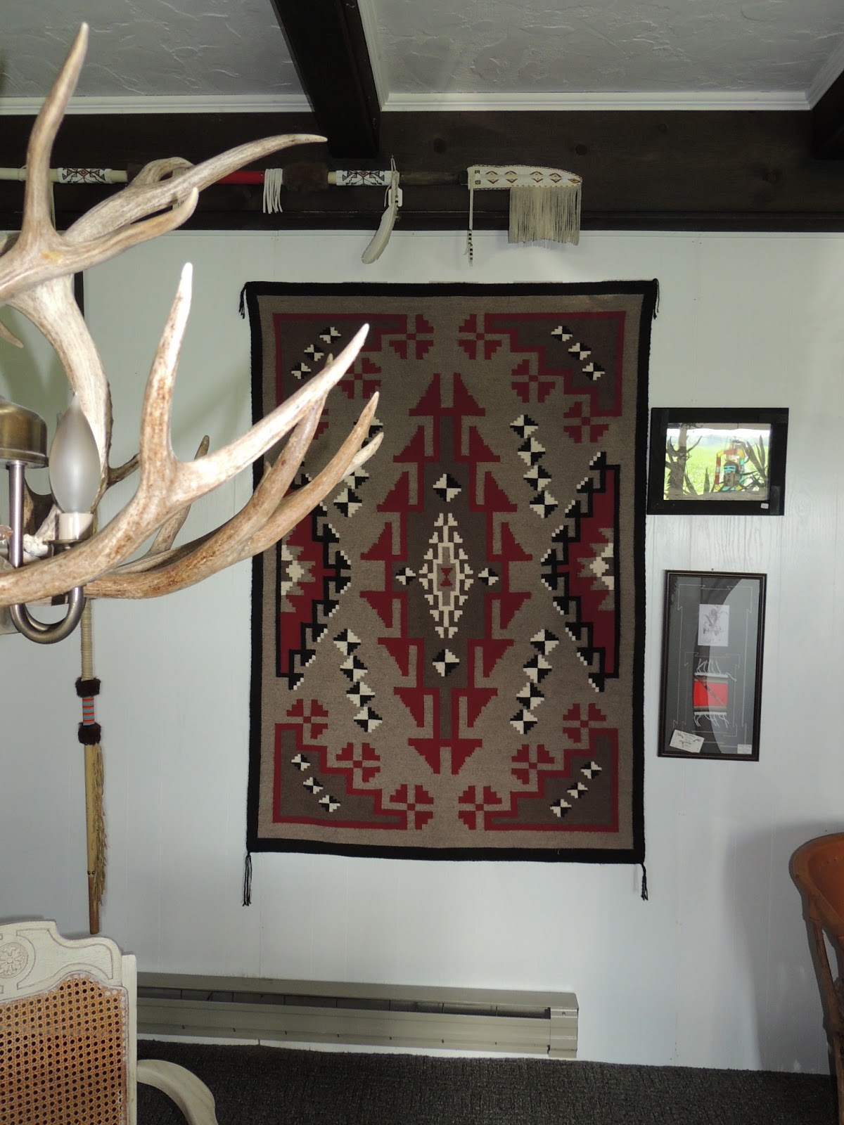 Indian Art Unlimited How To Display A Navajo Tapestry Rug