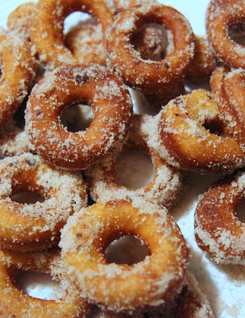 Make these easy fried donuts using prepared dough from your grocer's fridge section!