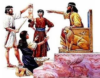 Re Salomone e le due mamme del bambino da tagliare a metà