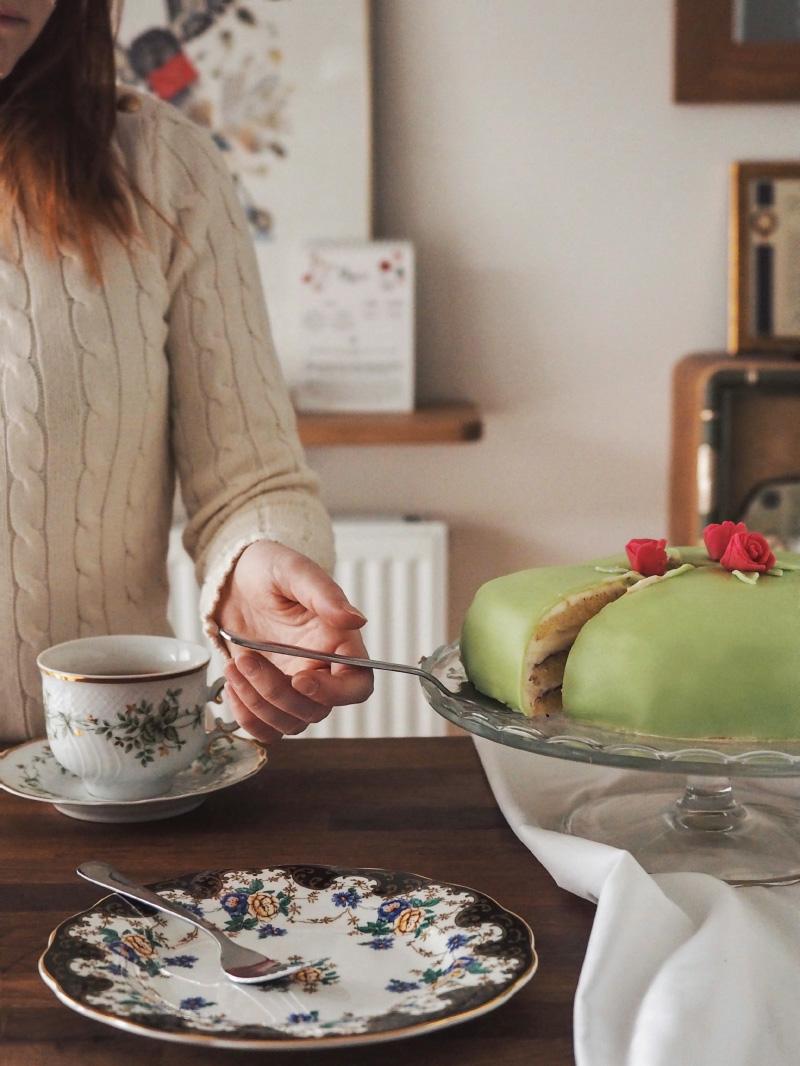 Recette suédoise : gâteau de princesse