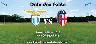 Data dan Fakta Liga Fantasia Serie A Gio 29 Lazio vs Bologna Fantasi manager Indonesia