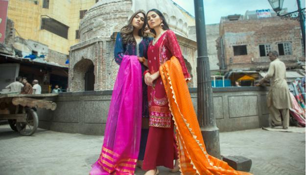 Rang nagar Taana Baana Eid collection