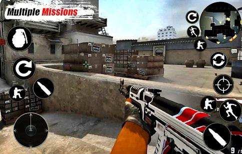 Critical Frontline Strike Offline Shooting Games