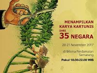 349 kartunis dari 35 negara pamerkan kartun tembakau di Semarang
