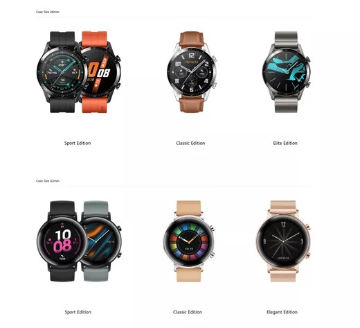 Hauwei watch GT 2 runs on LiteOS and last up to two weeks, price and release date