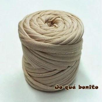 Cestos tejidos con trapillo