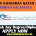 jobs in kahramaa Qatar 2019