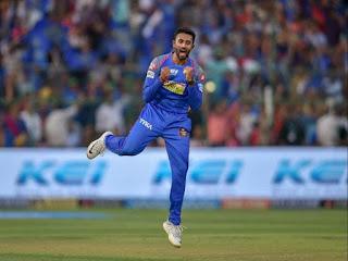Shreyas Gopal 4-16 | Rahul Tripathi 80* - RR vs RCB 53rd Match IPL 2018 Highlights