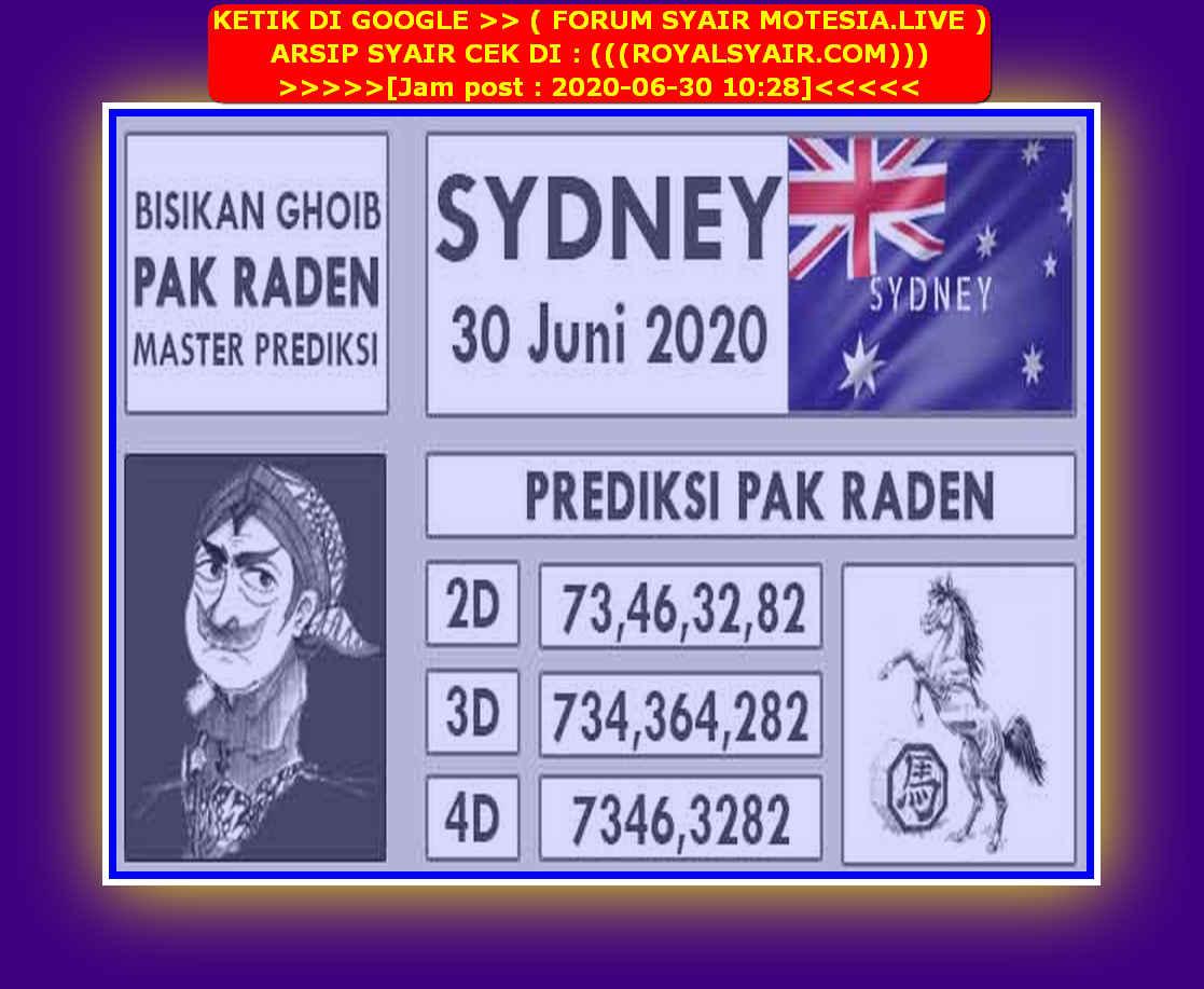 Kode syair Sydney Selasa 30 Juni 2020 94