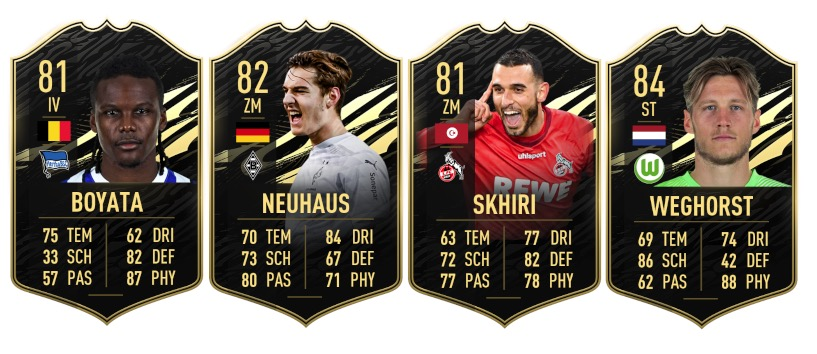 These Bundesliga players are there