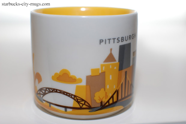 Starbucks City Mugs Pittsburgh