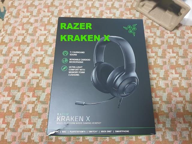 Razer Kraken X - budget gaming headset