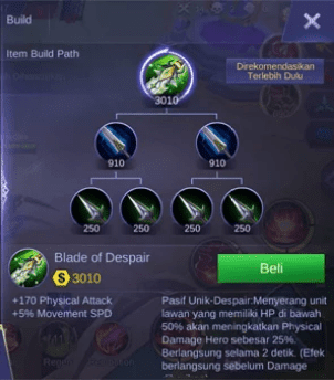Build Kimmy Mobile Legends Terbaik dan Mematikan