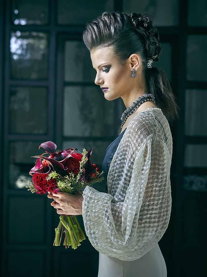 peinados de novia recogido moderno 2020