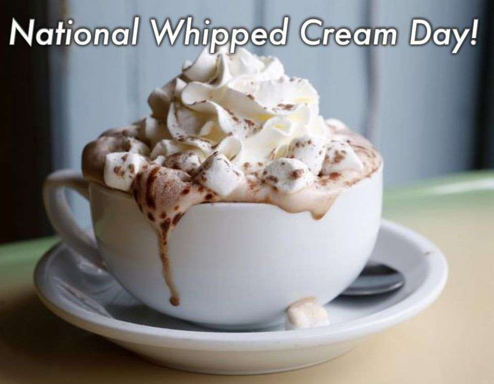 National Whipped Cream Day Wishes for Whatsapp