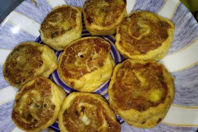 Potato pinwheels recipe