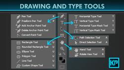 fungsi tool box photoshop