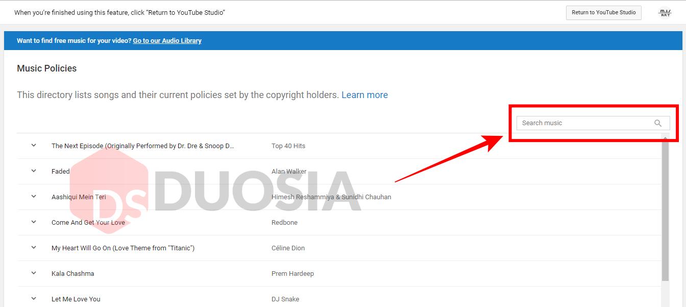 Mengetahui Copyrigth Musik di Youtube dengan Fitur Music Policies