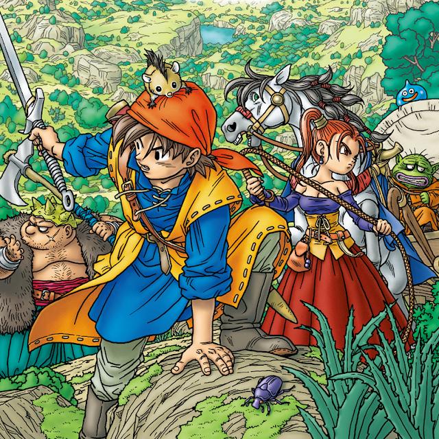 Os games da franquia Dragon Quest e Final Fantasy que merecem ganhar uma adaptação em anime
