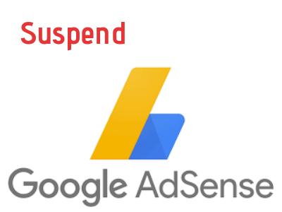 AdSense Account Suspend