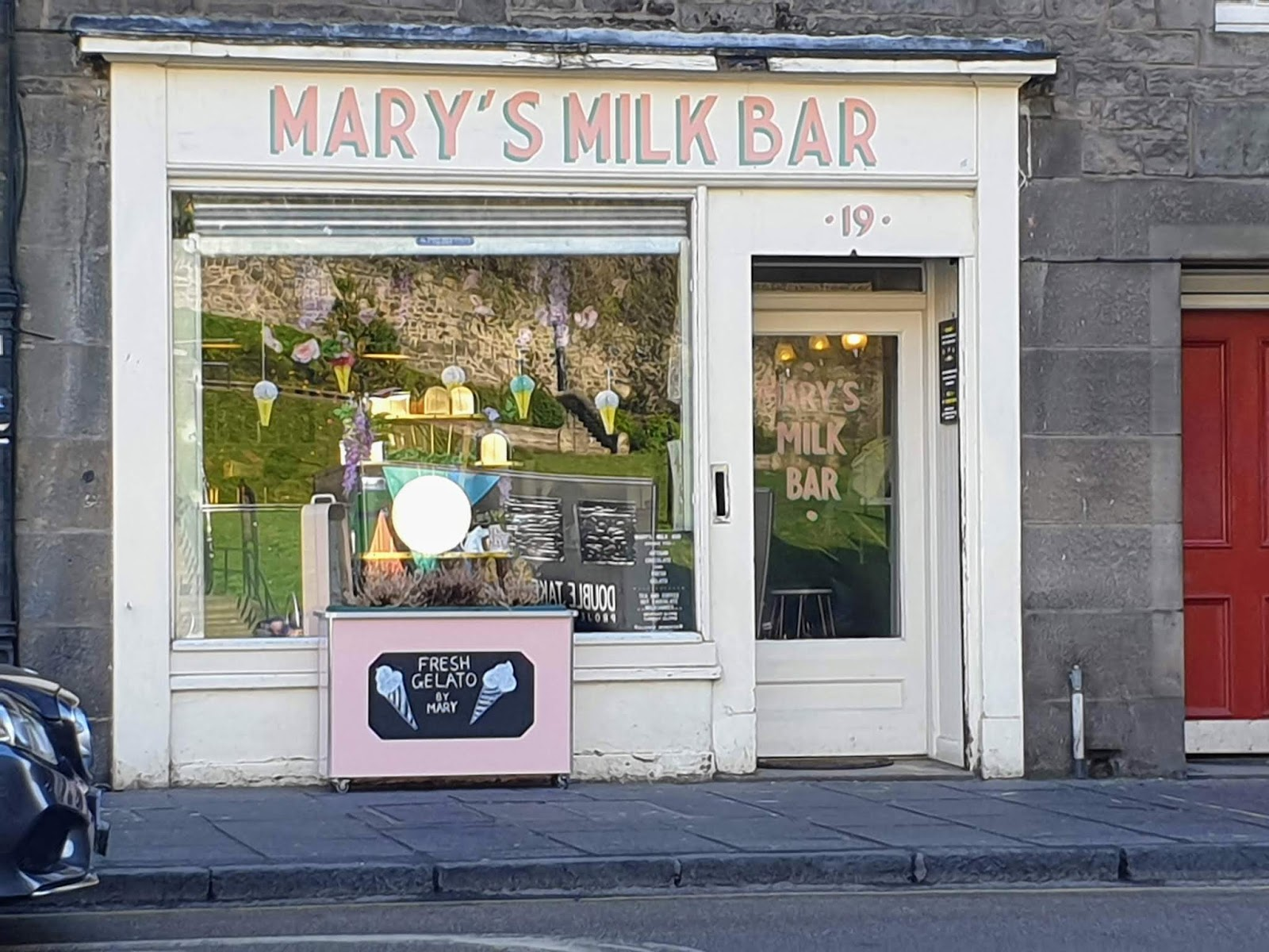 mary's milk bar edinburgh