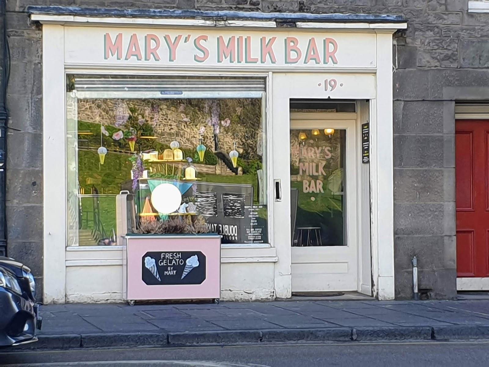 mary's milk bar edinburgh