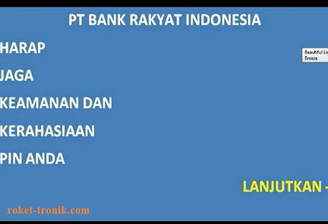 Cara mengetahui siapa yang transfer ke rekening kita lewat ATM.