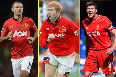 twitter debate on gerrard better than scholes and ryan giggs overrated