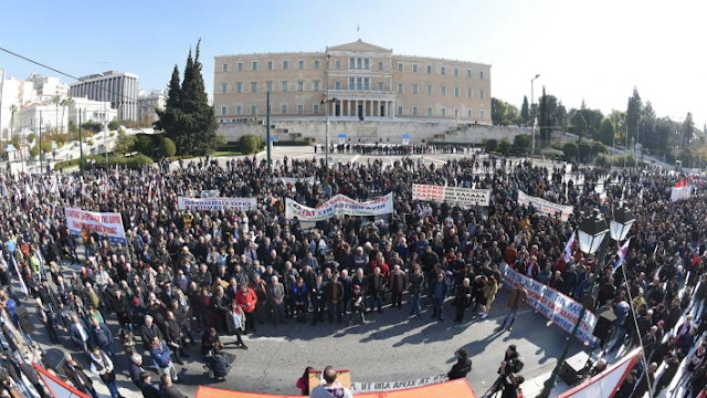 το μεγάλο συλλαλητήριο για τη ΛΑΡΚΟ