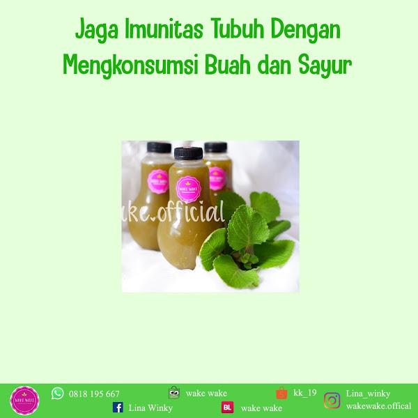 Menjaga Imunitas Tubuh Dengan Buah dan Sayur