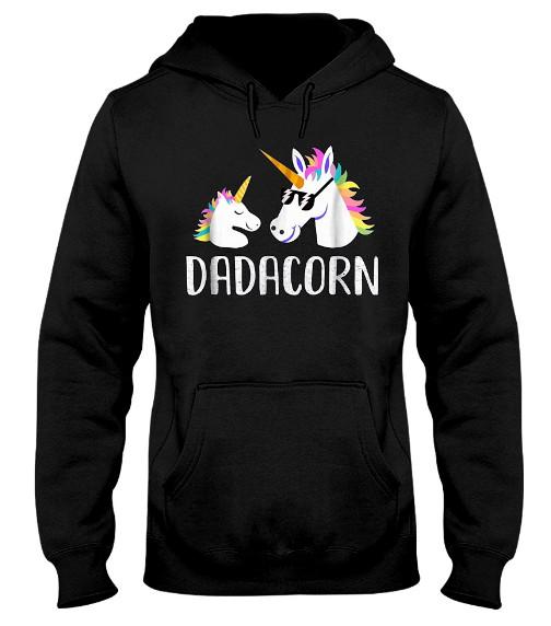 Dadacorn Unicorn Hoodie, Dadacorn Unicorn Sweatshirt, Dadacorn Unicorn  Shirts