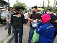 Kolaborasi GNI, GAAS dan Komunitas Club Motor GENRE Membagikan Takjil dan Masker