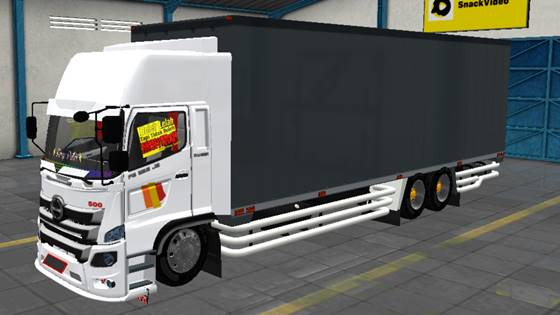 Mod Truck Hino 500 C13 TAM Cargo