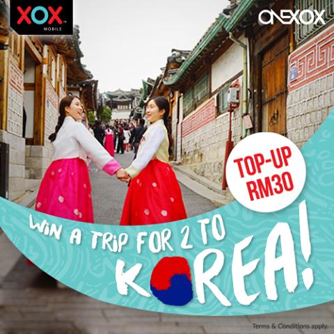 Pakej percutian ke Korea untuk dua orang selama 5 hari 4 malam !