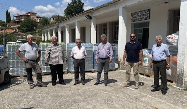 Δήμαρχος  Ερμιονίδας: Είμαστε δίπλα στους πυρόπληκτους του Δήμου Γορτυνίας