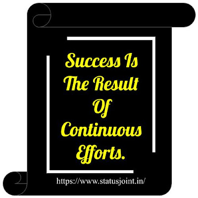 Success Status In English