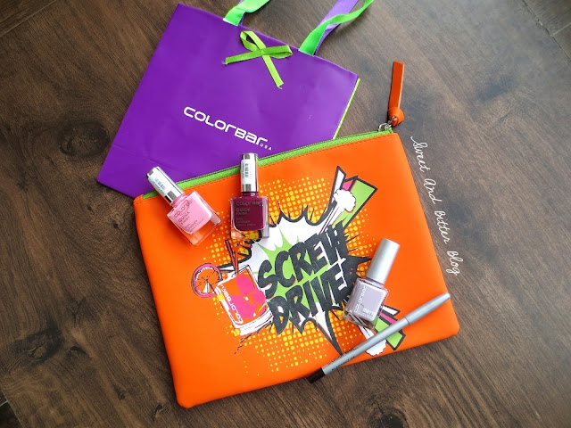 Colorbar Haul ScrewDriver Makeup Bag