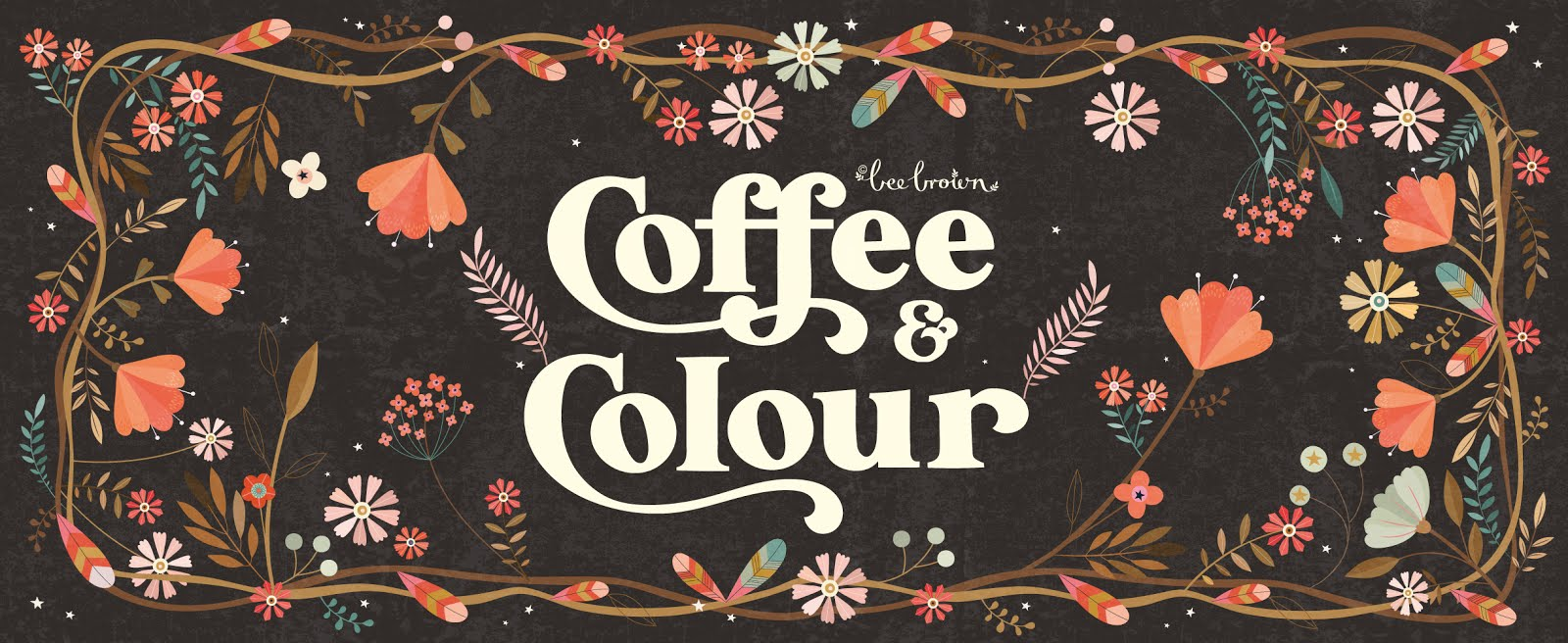 bee brown's coffee and colour