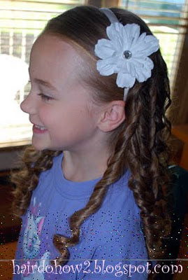 hairdo how to lesson 72 rag curls for long hair