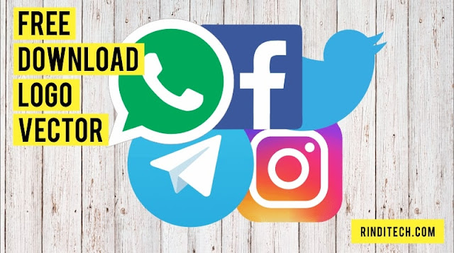 Logo Vector WhatsApp Instagram Facebook Twitter Telegram