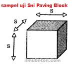 Paving Block: Pengaruh Bentuk Sampel Benda Uji Terhadap Uji Kuat Tekan