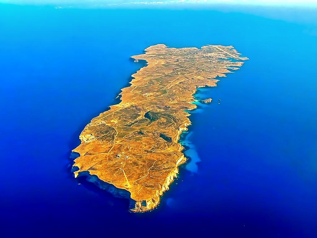 Lampedusa, Isole della Sicilia
