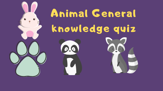 Answer Animal General knowledge quiz