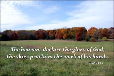 Psalm 19:1 nature photo